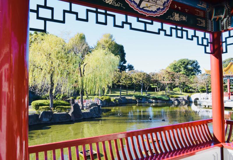 中華庭園瀋秀園チャイナ
