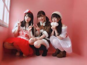 アイドル桜花のキセキ撮影