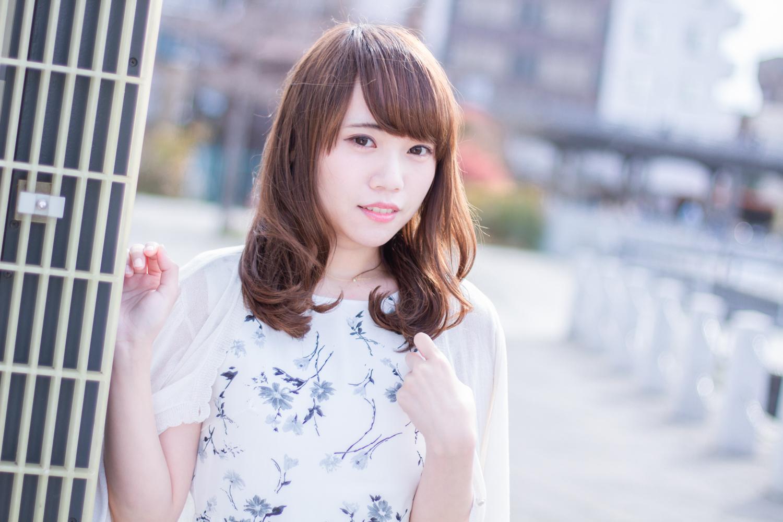 横浜山下公園モデル撮影