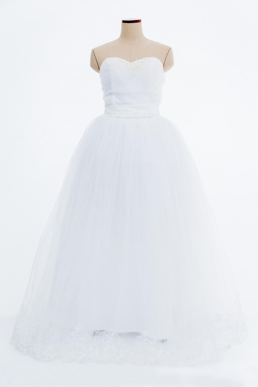 ドレス1シンプルウェディング