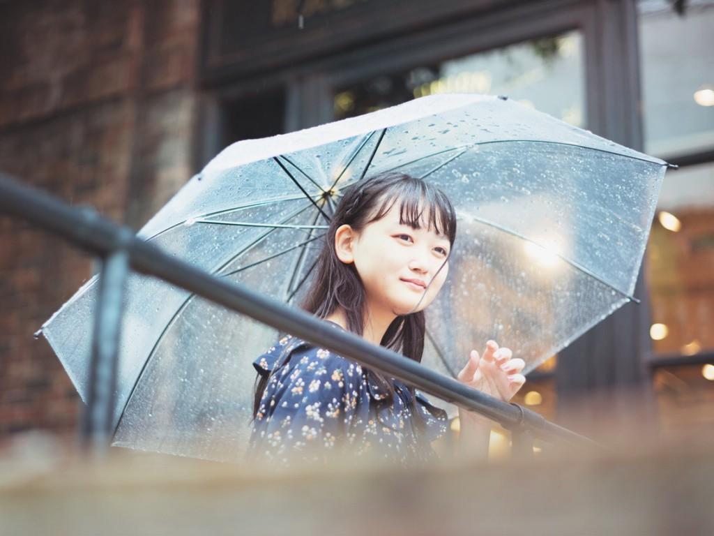 雨ポートレート撮影会